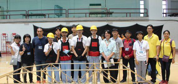 ส่งทีมเข้าร่วมการแข่งขันระดับนานาชาติ Asia Bridge Competition 2017
