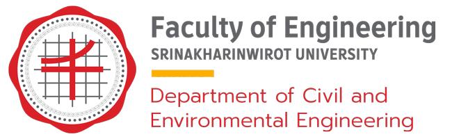 ภาควิชาวิศวกรรมโยธาและสิ่งแวดล้อม มศว - มหาวิทยาลัยศรีนครินทรวิโรฒ